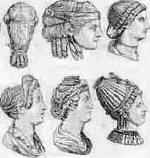 Stupendous Roman Short Hairstyles Gunalazisus